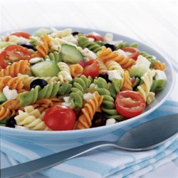 Feta and Vegetable Rotini Salad from ATHENOS Recipe