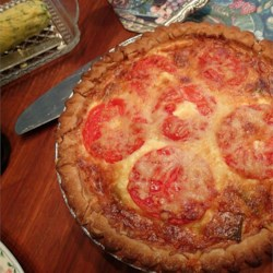 Leek and Cheese Quiche Recipe