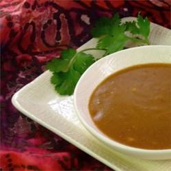 the best thai curry peanut sauce printer friendly