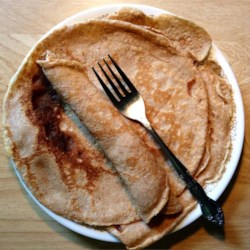 Healthier Basic Crepes Recipe