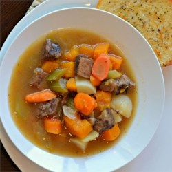 Healthier Slow Cooker Beef Stew I Recipe