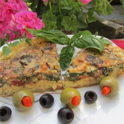 Transformed Spinach Mushroom Quiche Recipe