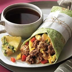 Photo of Beef Breakfast Burrito by The Beef Checkoff