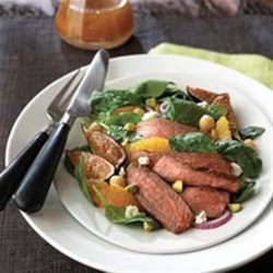 Photo of Cajun Beef Southwestern Salad by The Beef Checkoff