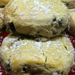 Raisin Tea Biscuits Recipe