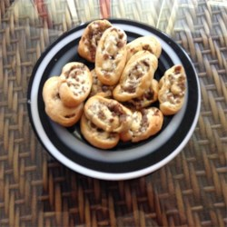 Sausage and Cream Cheese Pinwheels Recipe