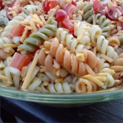 Home Town Drive-In Pasta Salad  Recipe