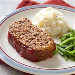 Brown Sugar-Glazed Home-Style Meat Loaf