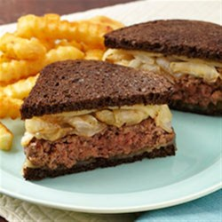 Patty Melt on Pumpernickel Recipe