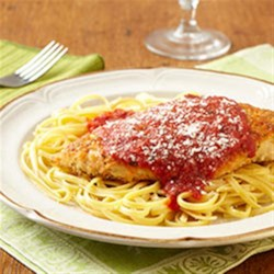 Photo of Skillet Italian Chicken Parmesan by Clorox® Disinfecting Wipes