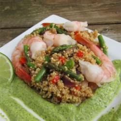 Shrimp and Quinoa Recipe