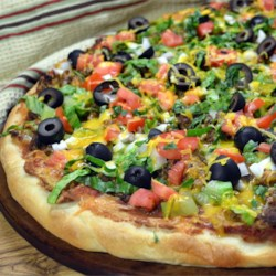 D's Taco Pizza Recipe