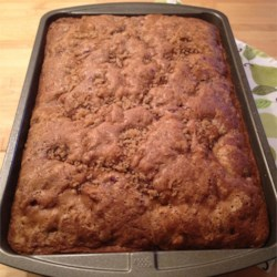 Grandma Moyer's Rhubarb and Strawberry Coffee Cake Recipe