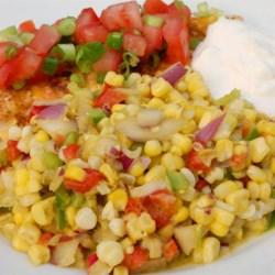 Southwestern Roasted Corn Salad