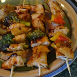 Yummy Honey Chicken Kabobs photo by Ashley Geist - Allrecipes.com ...