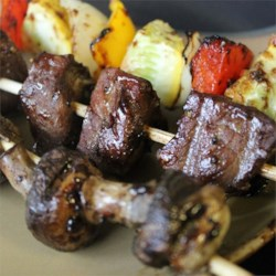 Mom's Beef Shish Kabobs Recipe