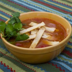 Healthier Slow-Cooker Chicken Tortilla Soup Recipe
