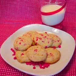 Cherry Chip Cookies I
