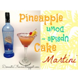 Pineapple Upside-Down Cake in a Glass Recipe