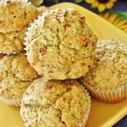 Savory Zucchini Muffins Recipe