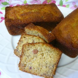 Whiskey and Bacon Banana Bread Recipe