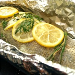 Steamed Walleye (Pickerel) on the Grill Recipe