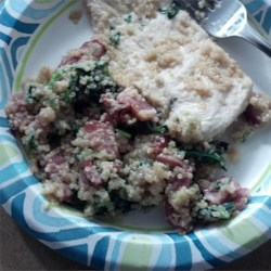 Bacon Spinach Quinoa Recipe