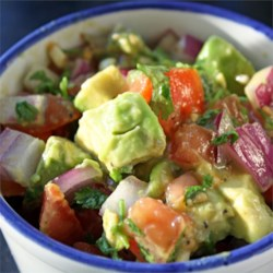 Persian-Style Tomato Avocado Salad Recipe