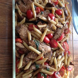 Balsamic Chicken and Pasta