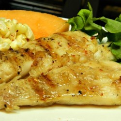 Barbeque Halibut Steaks Recipe