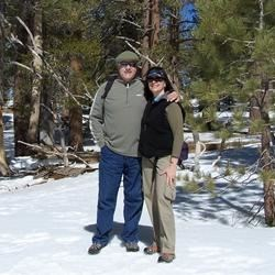 Snow fun on Mt. San Jacinto