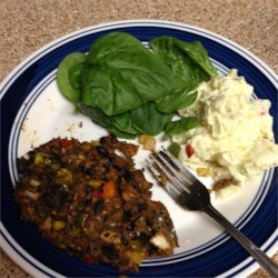 Black Bean Vegetarian Meat Loaf Recipe