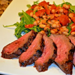 Red Curry Flank Steak  Recipe