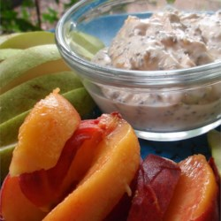 Healthy Peanut Butter Fruit Dip Recipe