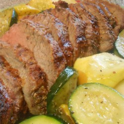 Grilled Tri-Tip with Oregon Herb Rub Recipe