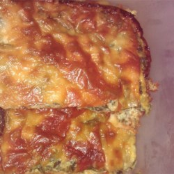 Spinach Muenster Quiche
