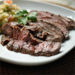 Citrus-Ginger Flat Iron Steak Recipe