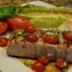 Grilled Tuna with Fresh Horseradish Recipe