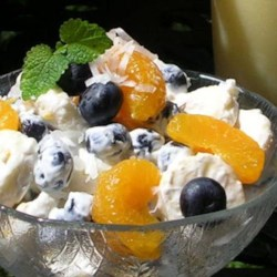 Blueberry Banana Salad