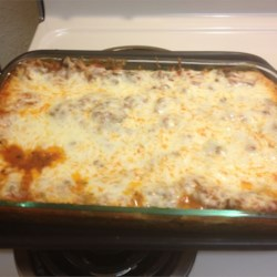 Eggplant and Ground Beef Lasagna Recipe