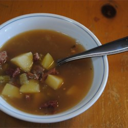 Ham and Great Northern Bean Soup Recipe
