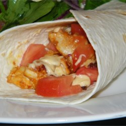 Buffalo Chicken and Ranch Wraps Recipe