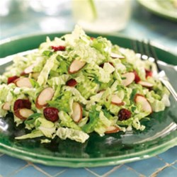Cranberry Almond Crunch Slaw Recipe