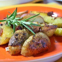 Pan-Roasted Marble Potatoes Recipe