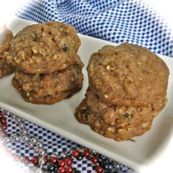 Spicy Zucchini Oatmeal Cookies Recipe