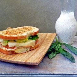 Tubby's Pesto Panini Recipe