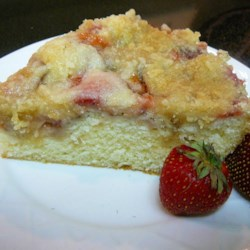 Fresh Strawberry Coffee Cake ~ Recipe Group Selection:  08, June 2013