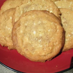Cinnamon White Chocolate Cookies