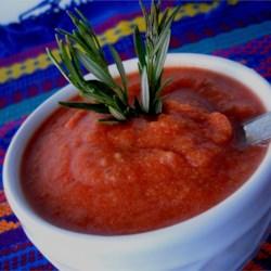 Rosemary Tomato Leek Soup