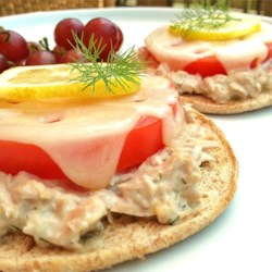 Lemon-Dill Tuna Melt Sandwiches Recipe